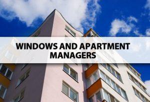 Apartment Windows portland