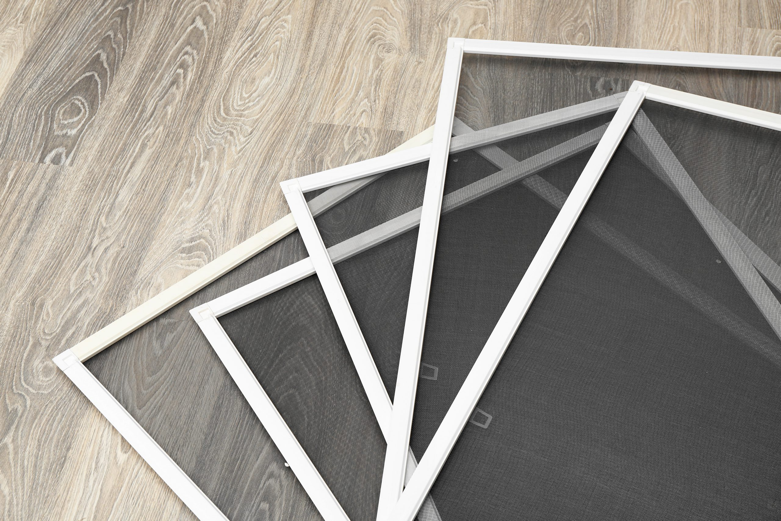 window screens made with fiberglass mesh